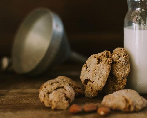 Biscotto pistacchio e mandorle